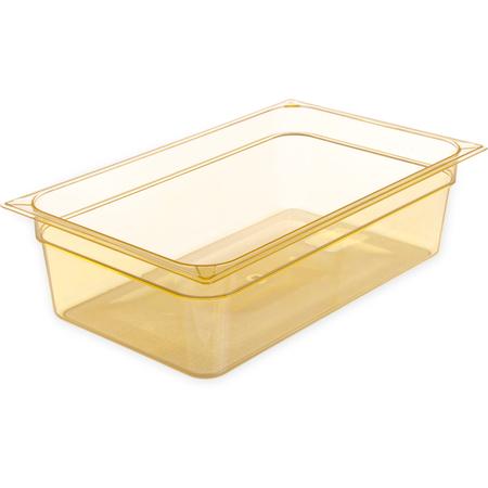 "10402B13 - StorPlus™ High Heat Food Pan Full-Size, 6"" Deep - Amber"