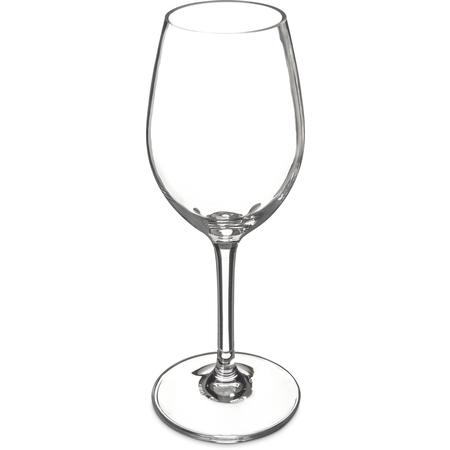 5643-407 - Alibi™ Plastic White Wine Glass 11 oz (4ea) - Clear