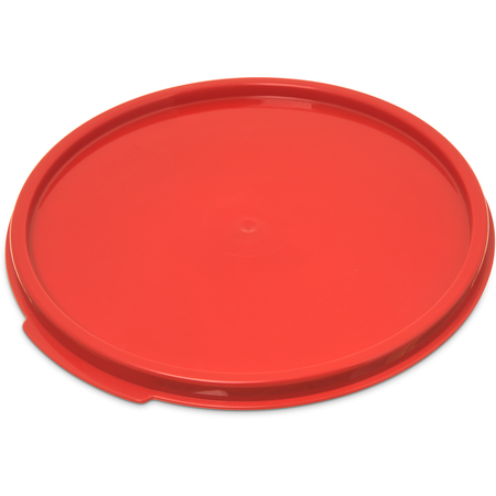 1077205 - StorPlus™ Round Container Lid 6-8 qt - Red