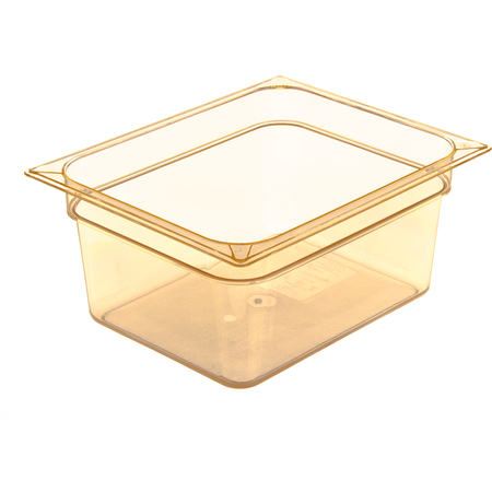 "10422B13 - StorPlus™ Food Pan HH 6"" DP 1/2 Size - Amber"