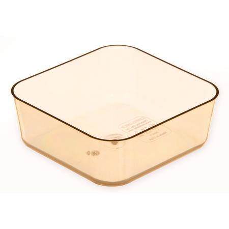 """3087113 - StorPlus™ Divider Food Pan HH 2.5"""" DP 1/6 Size - Amber"""