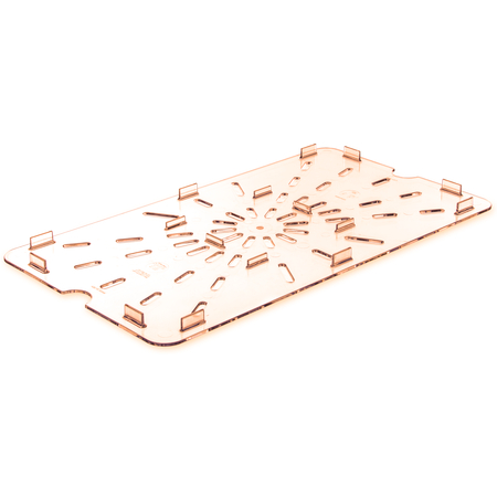 1041513 - StorPlus™ High Heat Food Pan Drain Grate Full-Size - Amber