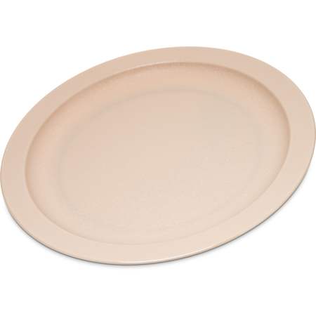 "PCD20925 - Polycarbonate Narrow Rim Plate 9"" - Tan"