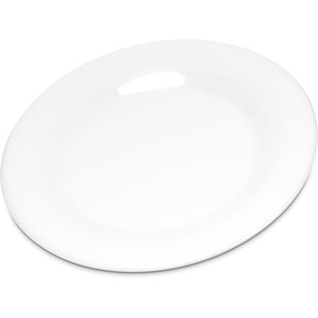 "4301602 - Durus® Melamine Salad Plate Wide Rim 7.5"" - White"