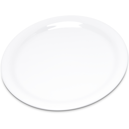 "4300802 - Durus® Melamine Narrow Rim Pie Plate 6.5"" - White"