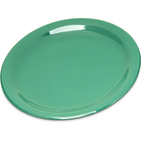 "4300609 - Durus® Melamine Salad Plate Narrow Rim 7.25"" - Green"