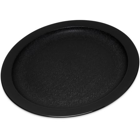 """PCD20903 - Polycarbonate Narrow Rim Plate 9"""" - Black"""