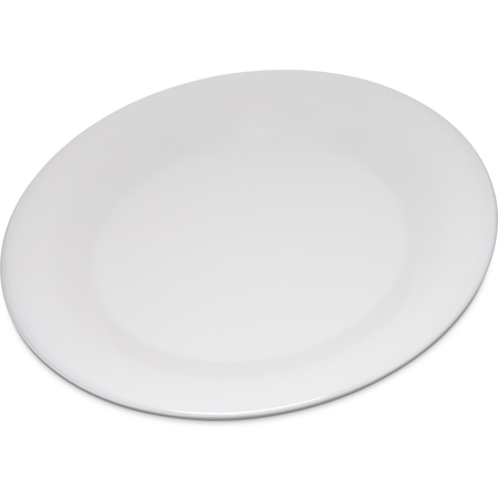 "4301242 - Durus® Melamine Wide Rim Dinner Plate 9"" - Bone"