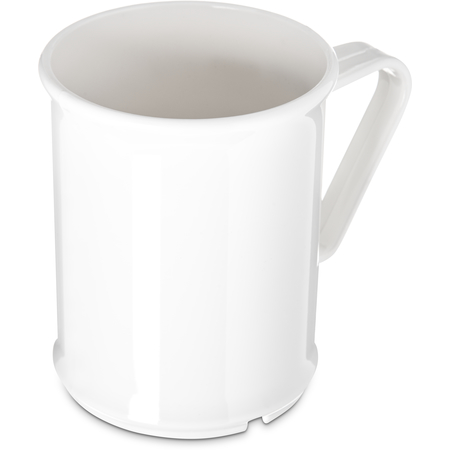 PCD79602 - Polycarbonate Handled Mug 9.6 oz - White