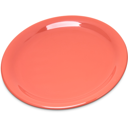 "4300852 - Durus® Melamine Narrow Rim Pie Plate 6.5"" - Sunset Orange"