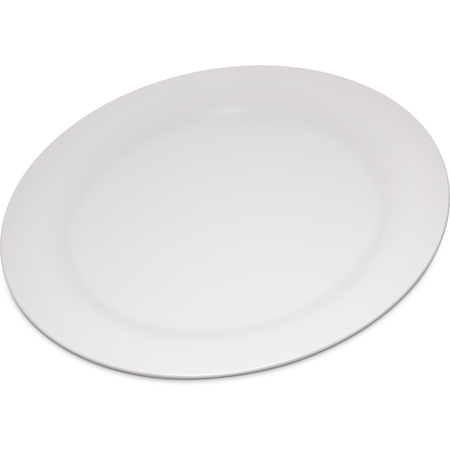 "4300242 - Durus® Melamine Narrow Rim Dinner Plate 10.5"" - Bone"
