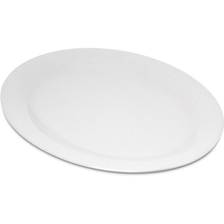 "4308271 - Durus® Melamine Oval Platter Tray 12"" x 9"" - Sand"