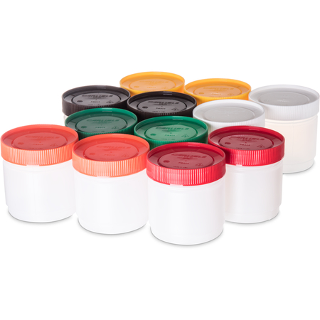 PS502N00 - Stor N' Pour® Pint Backup Assorted Color Caps 16 oz - Assorted
