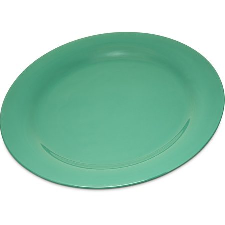 "4300209 - Durus® Melamine Dinner Plate Narrow Rim 10.5"" - Green"