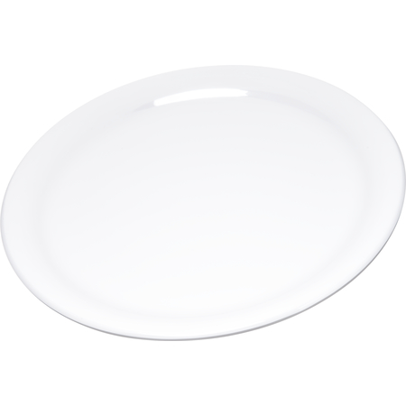 "4300402 - Durus® Melamine Narrow Rim Dinner Plate 9"" - White"