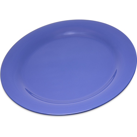 """4300214 - Durus® Melamine Dinner Plate Narrow Rim 10.5"""" - Ocean Blue"""
