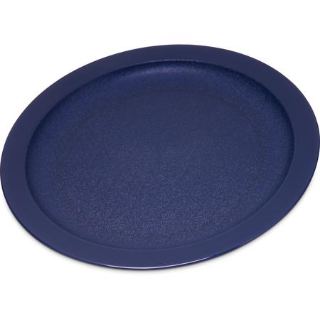 """PCD20950 - Polycarbonate Narrow Rim Plate 9"""" - Dark Blue"""