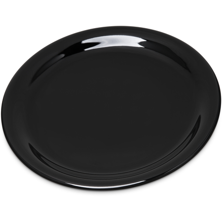 "4300803 - Durus® Melamine Narrow Rim Pie Plate 6.5"" - Black"