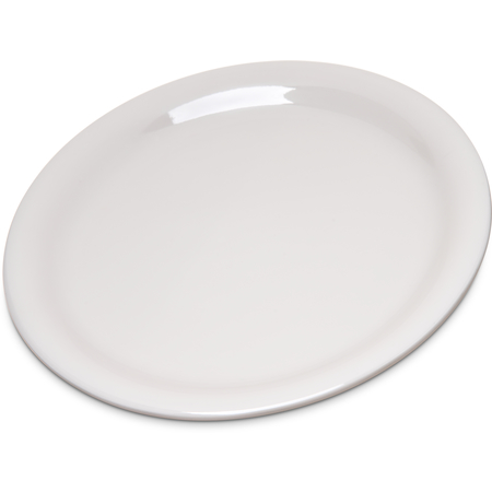 "4300842 - Durus® Melamine Narrow Rim Pie Plate 6.5"" - Bone"