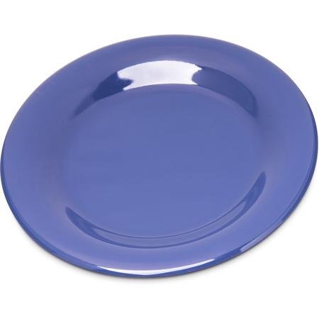 """4301814 - Durus® Melamine Wide Rim Pie Plate 6.5"""" - Ocean Blue"""