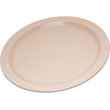 "PCD21025 - Polycarbonate Narrow Rim Plate 10"" - Tan"