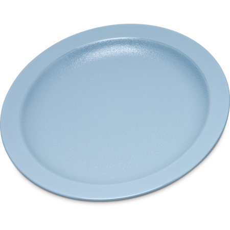 "PCD20659 - Polycarbonate Narrow Rim Plate 6.5"" - Slate Blue"