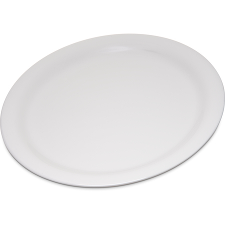"4300442 - Durus® Melamine Narrow Rim Dinner Plate 9"" - Bone"