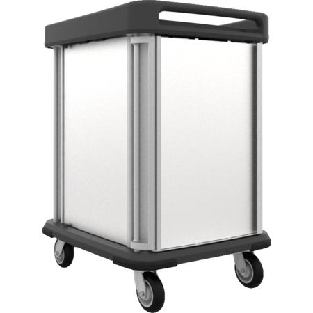 DXSU2T1DPT12 - Dinex® TQ Supreme Cart - 2 Trays 1 Door - Pass Through 12 Trays - Stainless Steel