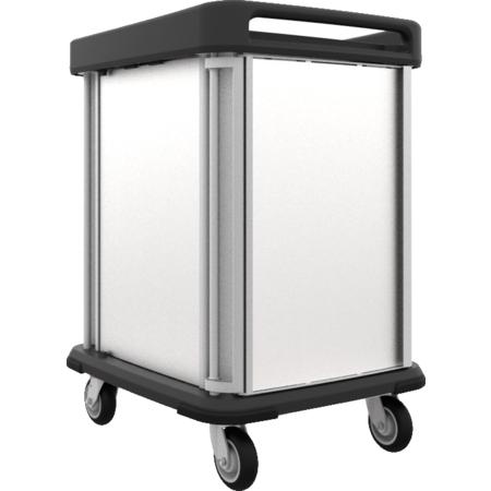 DXSU2T1D12 - Dinex® TQ Supreme Cart - 2 Trays 1 Door 12 Trays - Stainless Steel