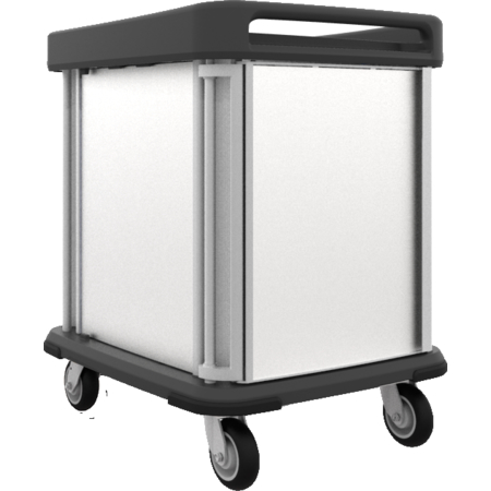 DXSU2T1D10 - Dinex® TQ Supreme Cart - 2 Trays 1 Door 10 Trays - Stainless Steel