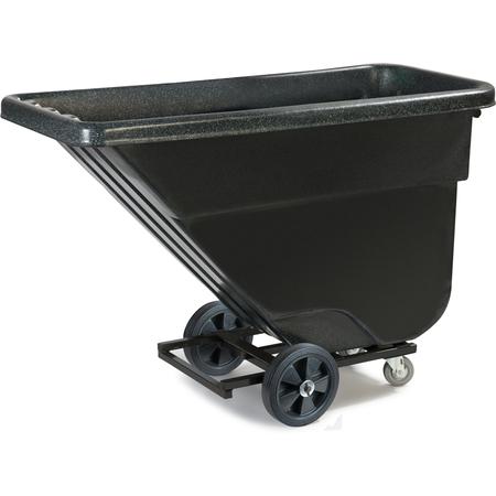 TTLD58003 - Light Duty Utility Tilt Truck 5/8 yard - 450 lbs - Black