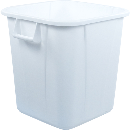 34152802 - Bronco™ Square Waste Bin Trash Container 28 Gallon - White