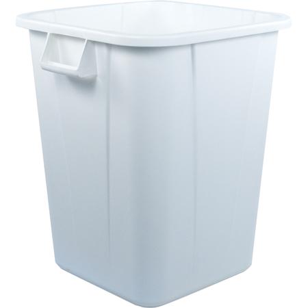 34154002 - Bronco™ Square Waste Bin Trash Container 40 Gallon - White
