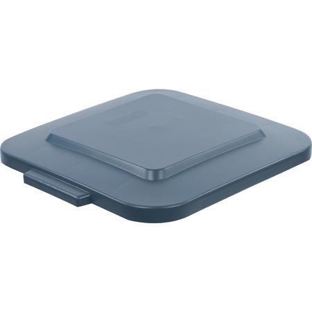 34154123 - Bronco™ Square Waste Bin Trash Container Lid 40 Gallon - Gray