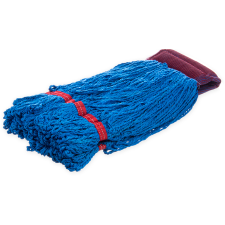 "36942014 - Loop End Microfiber Mop 20"" - Blue"