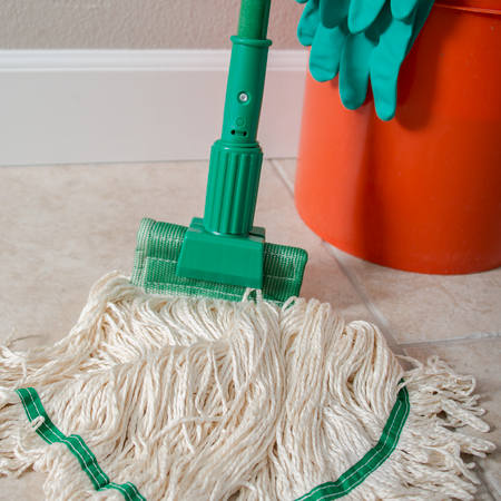 """36947509 - Jaw Style Mop Handle 60"""" - Green"""