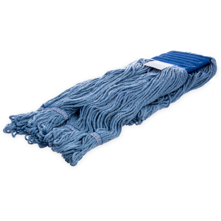 36946014 - Flo-Pac® X-Large Blue Band Mop With Looped End - Blue