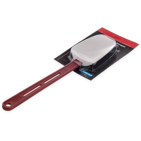 """4413502 - Sparta® High Heat Scraper 13-7/8"""" - Red"""