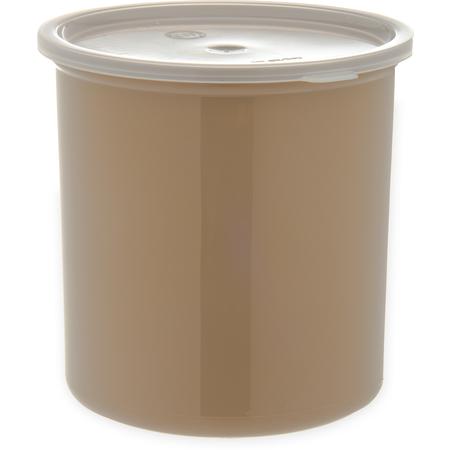 034206 - Poly-Tuf™ Crock w/Lid 2.7 qt - Beige