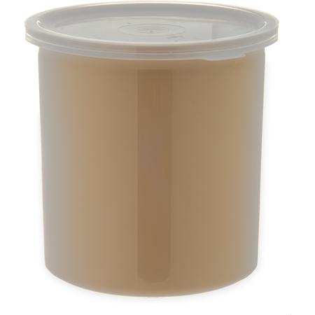 034106 - Poly-Tuf™ Crock w/Lid 1.2 qt - Beige