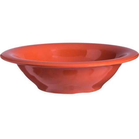 4303652 - Durus® Melamine Rimmed Bowl 12 oz - Sunset Orange