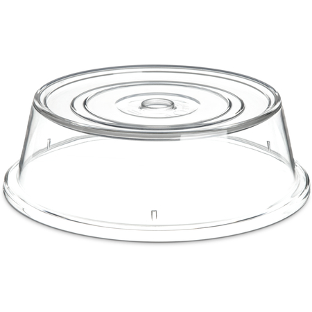 "199107 - Clear Plate Cover 10-1/2 to 10 5/8""  - Clear"