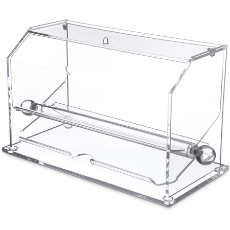 "SSD10007 - Straw Dispenser 11"", 5-9/16"", 11-11/16"" - Clear"