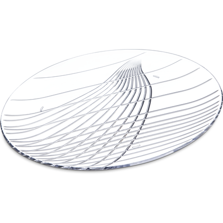 "641307 - Festival Trays™ Round Tray 13"" - Clear"
