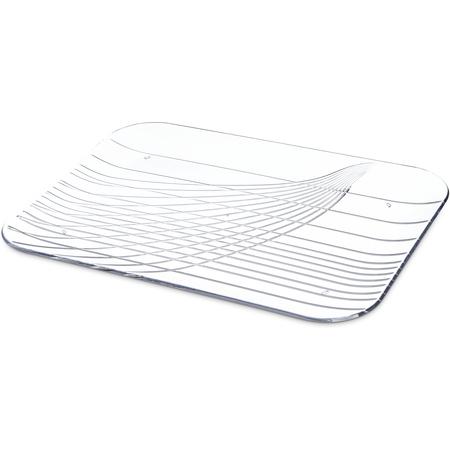 "645007 - Festival Trays™ Rectangular Tray 15"" x 10-3/4"" - Clear"