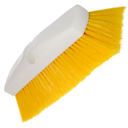 "4127804 - Sparta® Spectrum® Flo-Thru Wall & Equipment Brush 10"" - Yellow"