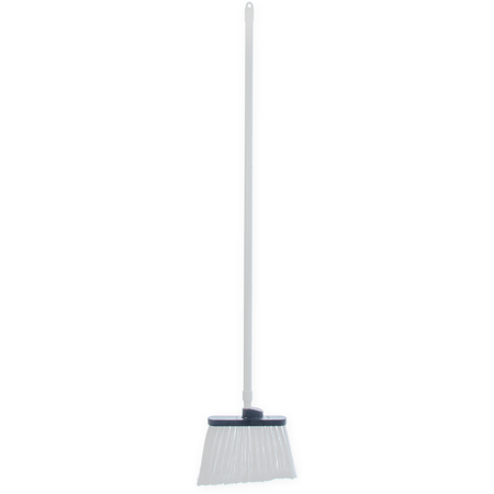 "4108202 - Sparta® Spectrum® Duo-Sweep® Angle Broom Flagged Bristle 56"" Long - White"
