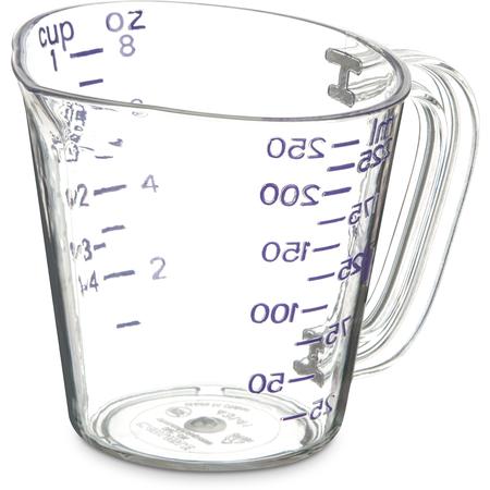 43141AF07 - Commercial  Measuring Cup 1 c - Purple