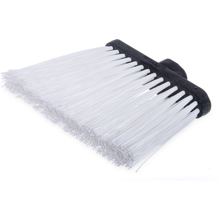 "3686802 - Duo-Sweep® Heavy Duty Angle Broom w/12"" Flare (Head Only) 8"" - White"