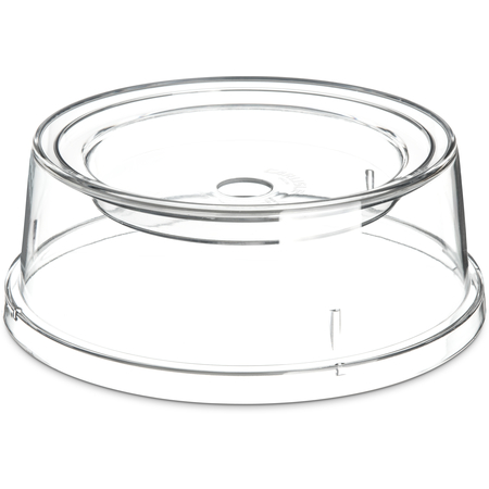 "196007 - Combination Plate & Bowl Cover 9"" - Clear"